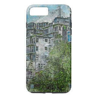 Favelas 2020 de San Futurisco TwinPeaks Coque iPhone 7 Plus