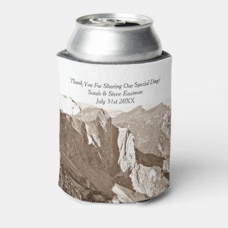 Faveur de mariage d'escalade de roche de montagne rafraichisseur de cannettes