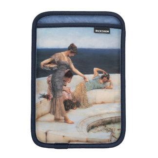 Favoris argentés par Lawrence Alma-Tadema Housses Pour iPad Mini