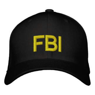 FBI CASQUETTE BRODÉE