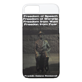 FDR - Absence de la crainte Coque iPhone 7