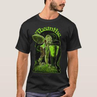 Fée de Verte d'honoraires de La d'absinthe avec le T-shirt