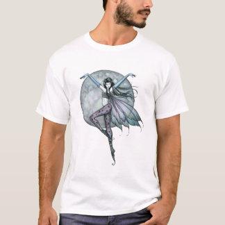 Fée gothique de T-shirt féerique de la jeunesse de