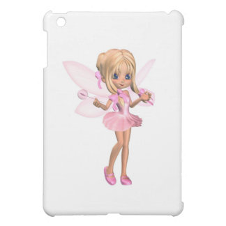 Fée mignonne de ballerine de Toon dans le rose - Coques Pour iPad Mini