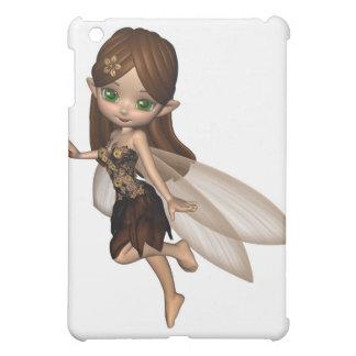 Fée mignonne de Toon dans la robe de fleur de Coques iPad Mini