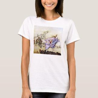 Fées dans le T-shirt d'arbres