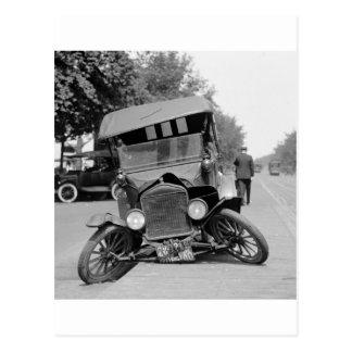 Feet évasé, 1922 cartes postales