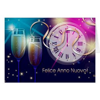 Felice Anno Nuovo. Les cartes italiennes de