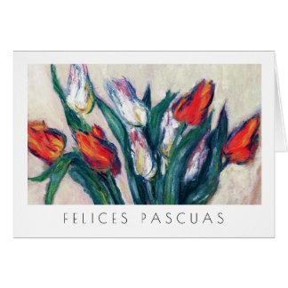 Felices Pascuas. Carte de Pâques de beaux-arts