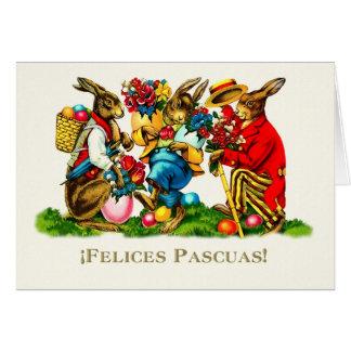 Felices Pascuas. Cartes de Pâques heureuses
