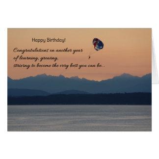 Félicitations, anniversaire carte de vœux