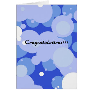 Félicitations ! carte
