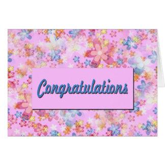 Félicitations Carte De Vœux
