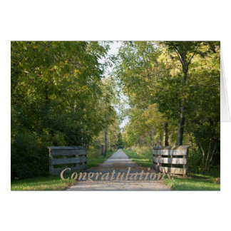Félicitations ! carte de vœux