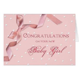 Félicitations de bébé - bébé carte de vœux