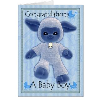 félicitations de bébé, nouveau bébé carte de vœux