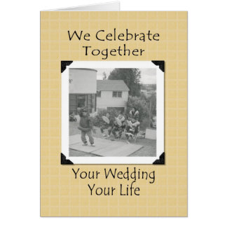 Félicitations de mariage de Natif américain Carte De Vœux