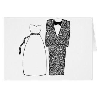 Félicitations de mariages carte