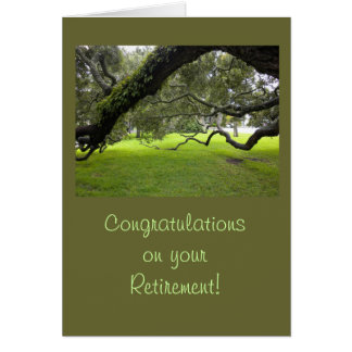 Félicitations de retraite carte de vœux