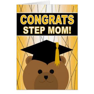 Félicitations d'obtention du diplôme pour la maman carte de vœux