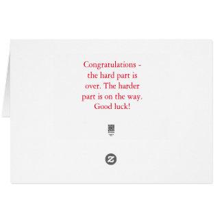 Félicitations pour les examens dentaires carte de vœux