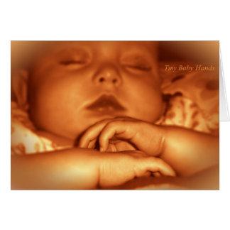 Félicitations sur un nouveau bébé carte de vœux