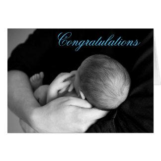 Félicitations sur votre carte de bébé