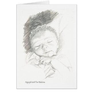 Félicitations sur votre nouveau bébé ! carte de vœux