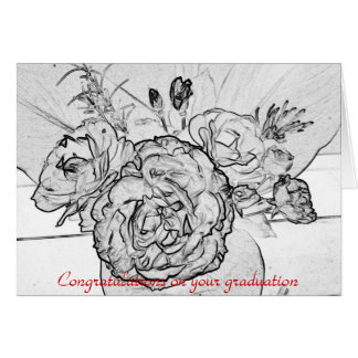 Félicitations sur votre obtention du diplôme carte de vœux