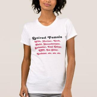 Femelle retirée t-shirt