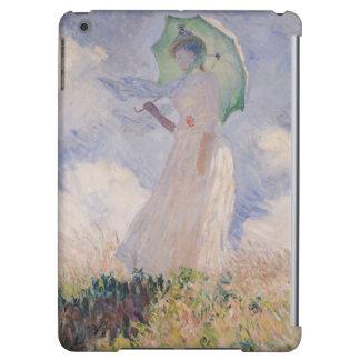 Femme de Claude Monet | avec le parasol tourné