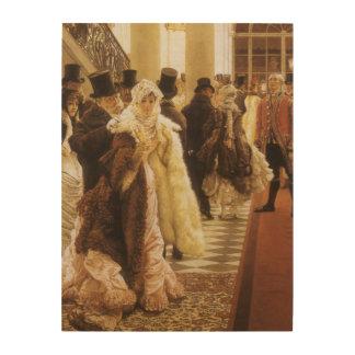 Femme de mode par Tissot, art victorien vintage