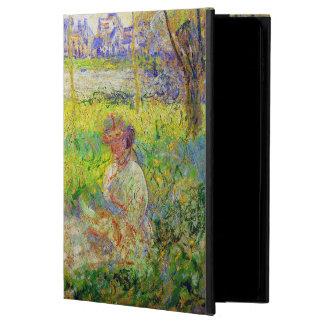 Femme de Monet assise sous les beaux-arts de
