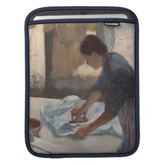 Femme d'Edgar Degas | repassant, c.1876-87 Housse Pour iPad