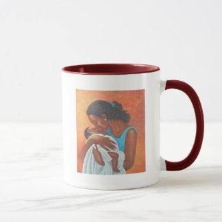Femme des îles mug