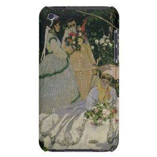 Femmes de Claude Monet | dans le jardin Coque iPod Touch Case-Mate