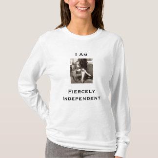 femmes indépendantes de librairie de T-shirt