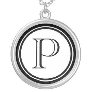 Femmes initiales collier personnalisé