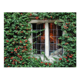 Fenêtre attrayante carte postale