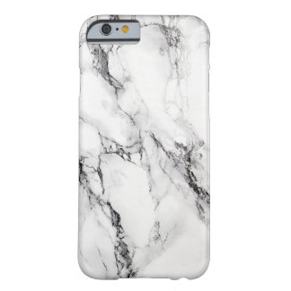 Fente noire en pierre de marbre grise coque barely there iPhone 6