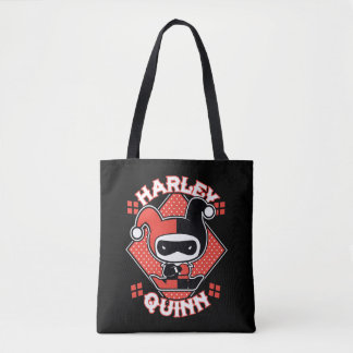 Fentes de Chibi Harley Quinn Sac