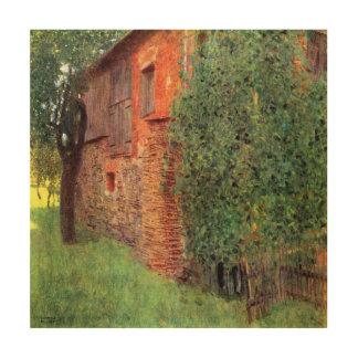 Ferme chez Kammer par Gustav Klimt, art vintage