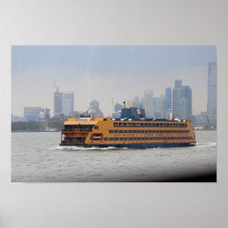 Ferry de Staten Island Poster