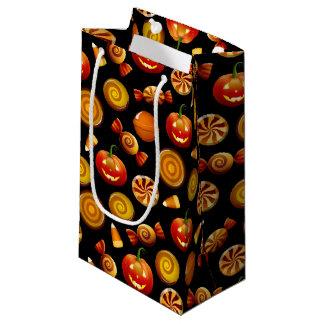 Festin de Halloween, noir, sac de cadeau - petit,