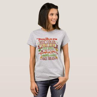 Festins de chute t-shirt