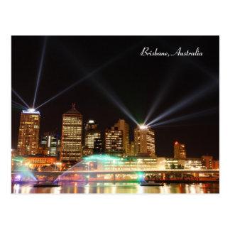 Festival Australie, carte postale de Brisbane