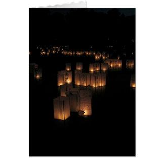 Festival de lanterne carte