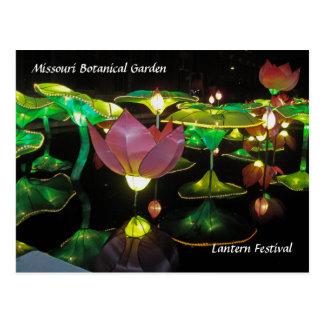 Festival de lanterne carte postale