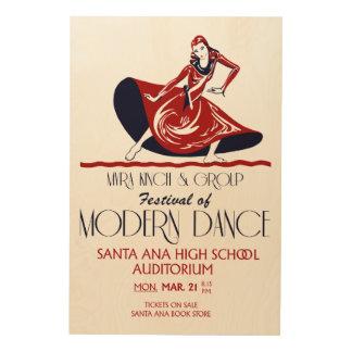Festival de rétro art de danse moderne