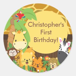 Découvrez la collection d'autocollants pour anniversaire d'enfant et personnalisez-les avec votre texte ou vos designs